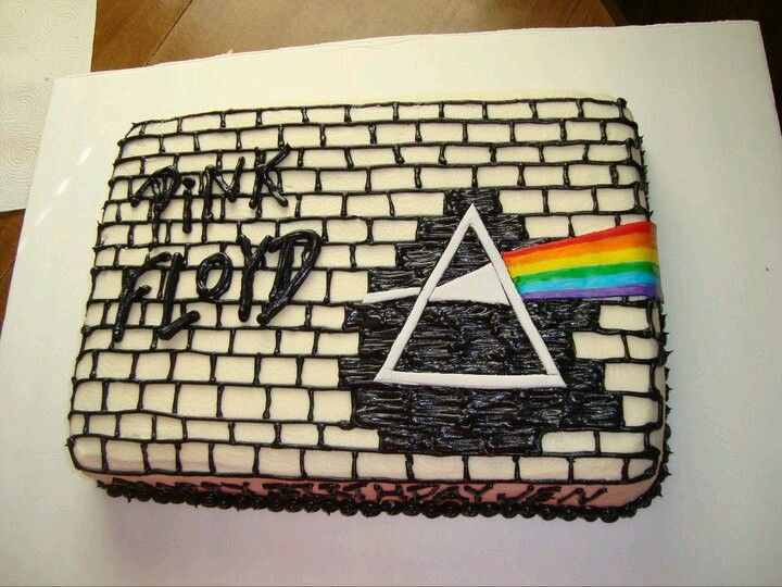Pink Floyd Cake With Images Pink Floyd Birthday Character