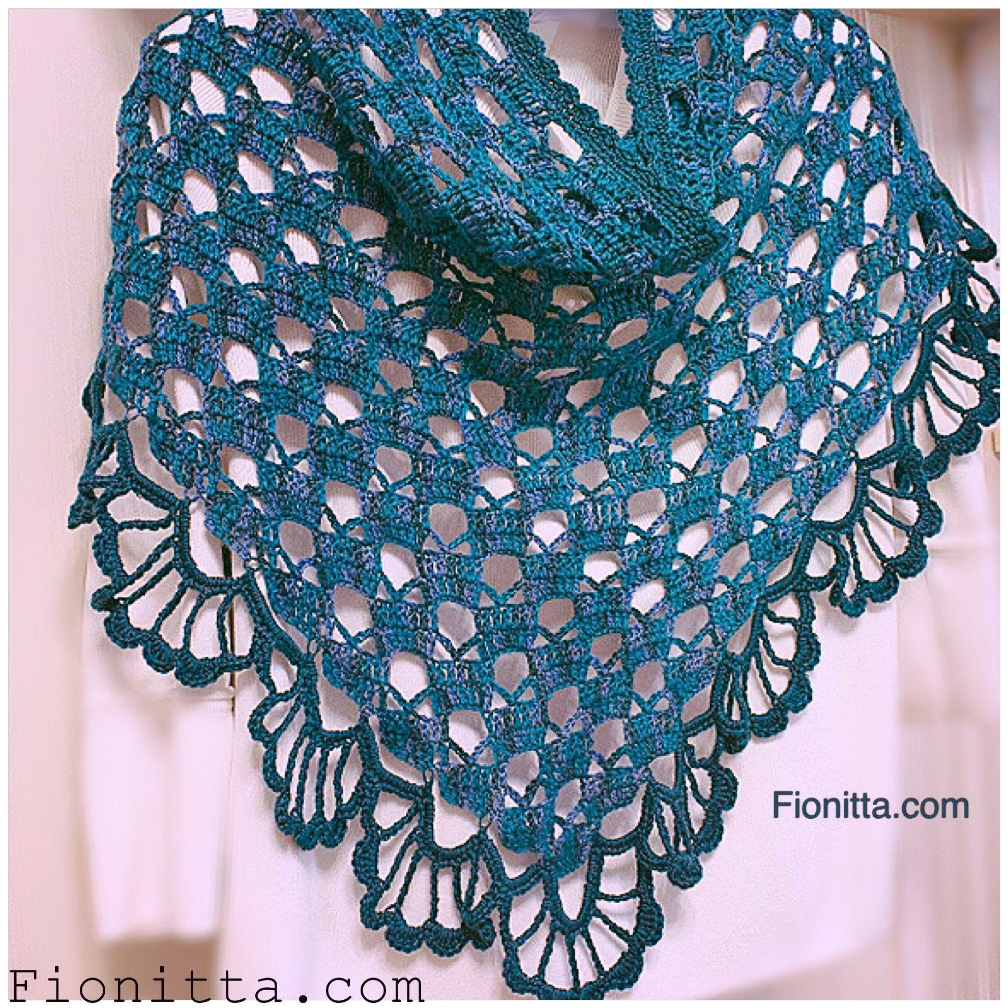 March Shawl By Fionitta - Free Crochet Diagram - (fionitta ...