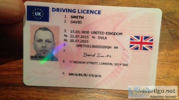 Driver Pin Jackscodocuments By Australian's License And Real Cards Certificate On Passport Original