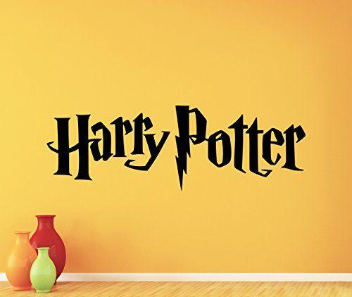 Harry Potter Wall Decal HP Movie Vinyl Sticker Cartoons Wizard Boy ...