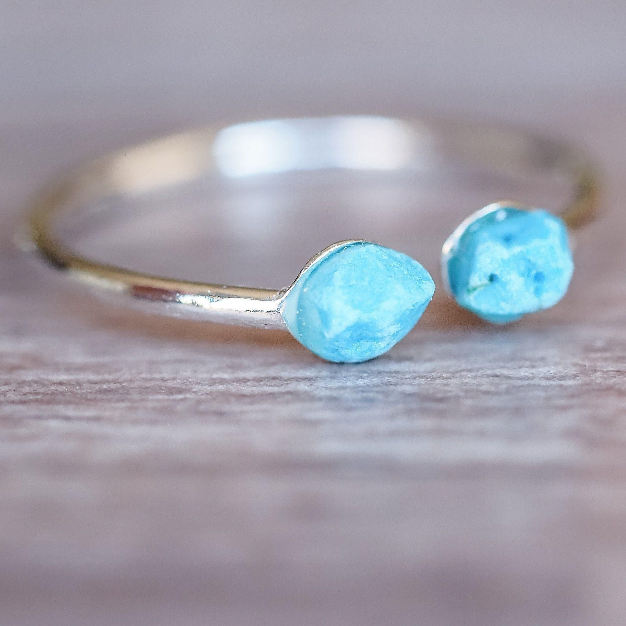 Silver Little Turquoise Ring In 2019 Turquoise Jewelry
