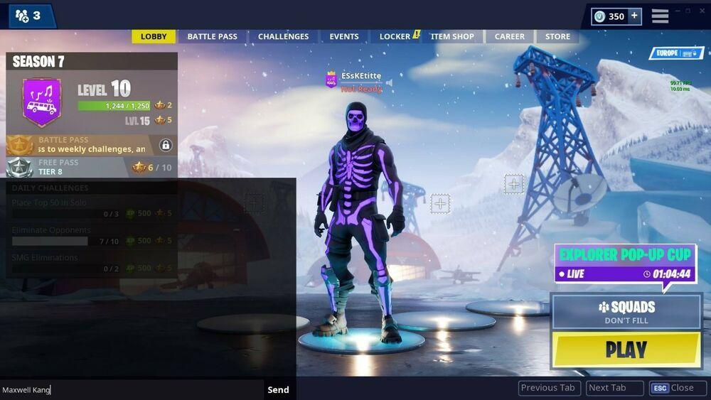 Fortnite OG Purple Skull Trooper Account (changeable email