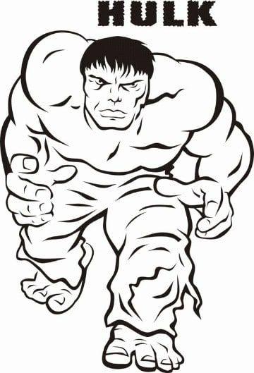 imagenes de hulk para colorear e imprimir | manualidades | Pinterest ...