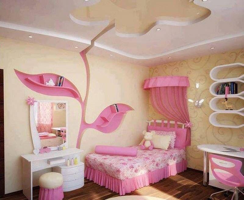 Cuarto de niña | Cuartos de niños y bebés (Kids and babys rooms ...