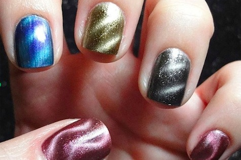 $12 for 3 Bottles of Magnetic Nail Polish - Shipping Included ($29.97 Value)