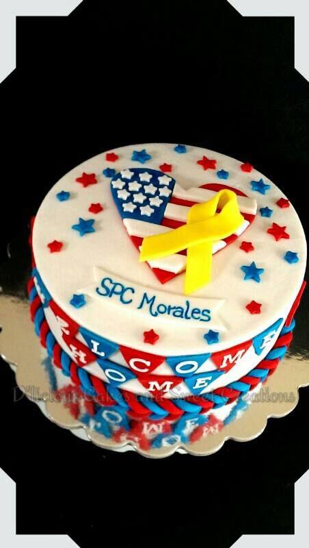 welcome home idea | Cakes \'n Cupcakes | Pinterest | Cake, Marine ...