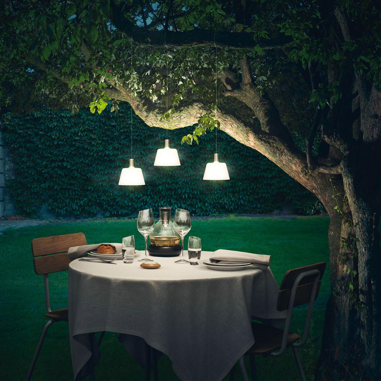 Romantisches dinnner im garten mit den solar leuchten von eva solo garten pinterest - Solarlampen garten kugel ...