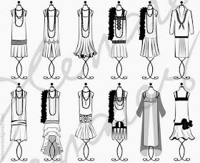Charming Doodle...sew it, build it!: Trends in 1920's Fashion