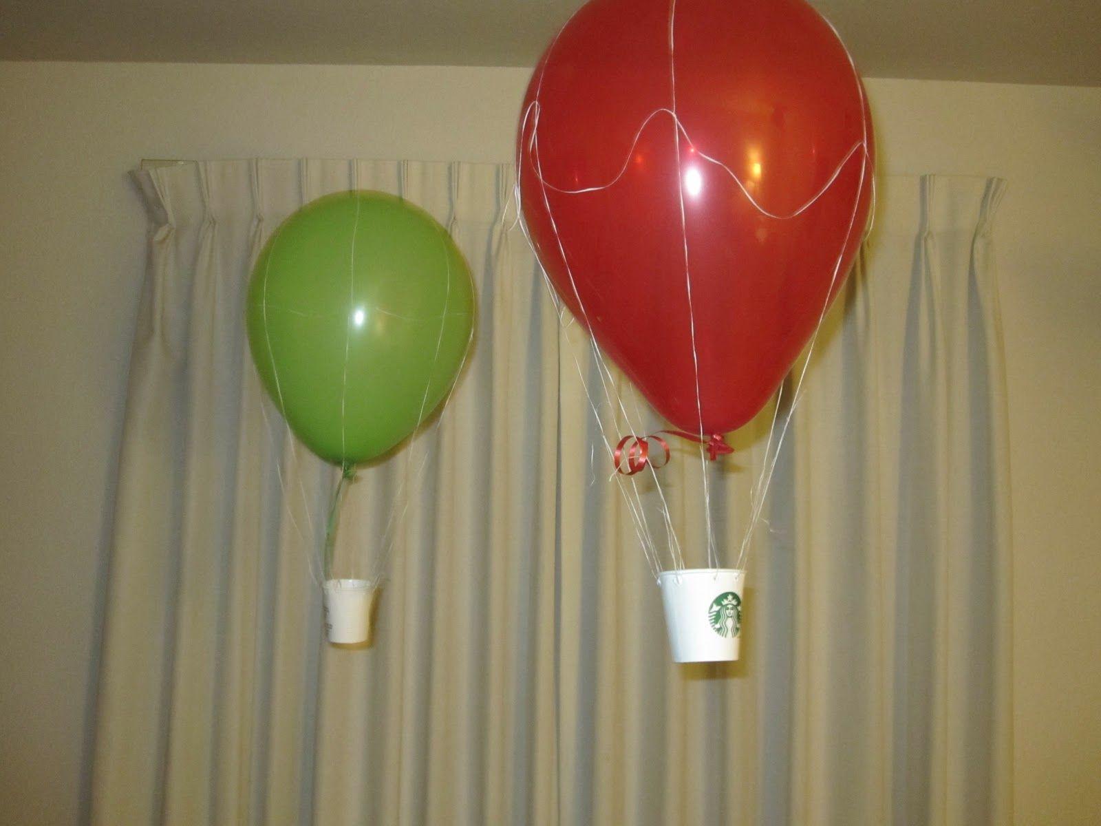 Funscienceforgirls Com Fun Science Hot Air Ballon Party Science For Kids