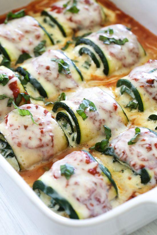 Zucchini Rollatini