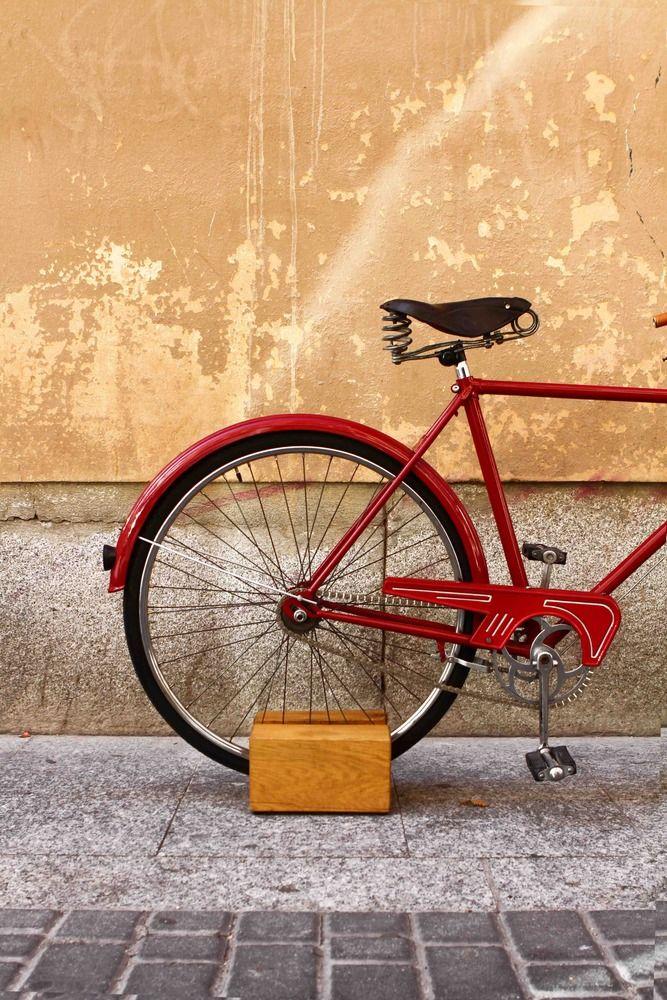 Dale Pedales Wooden Floor Bike Stand Indoor Bike Stand Indoor
