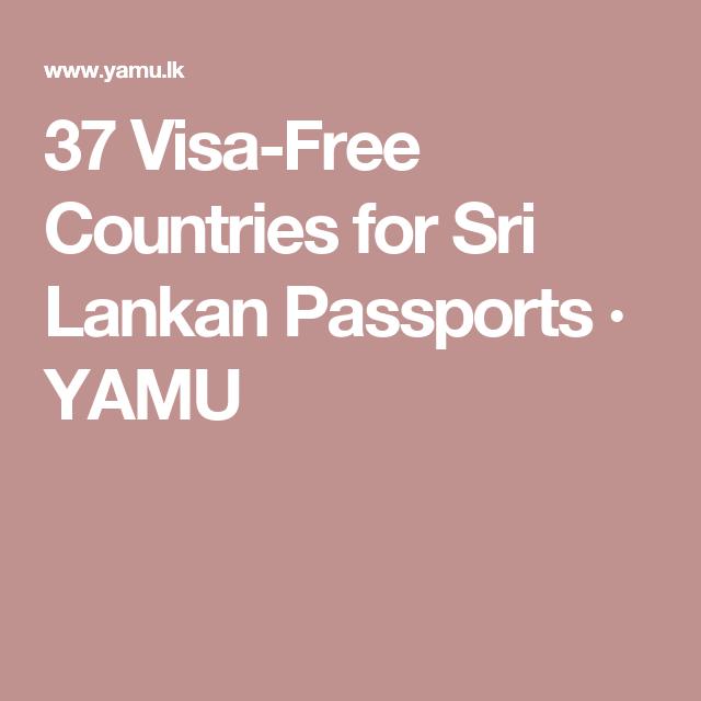 visa free countries for sri lankan passports