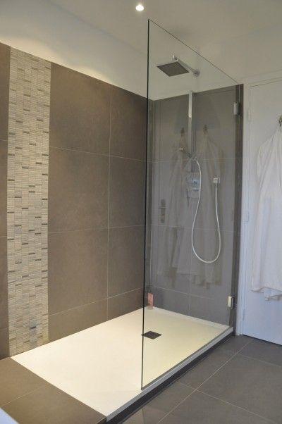 Douche italienne u2026 Pinteresu2026 - salle de bains douche italienne