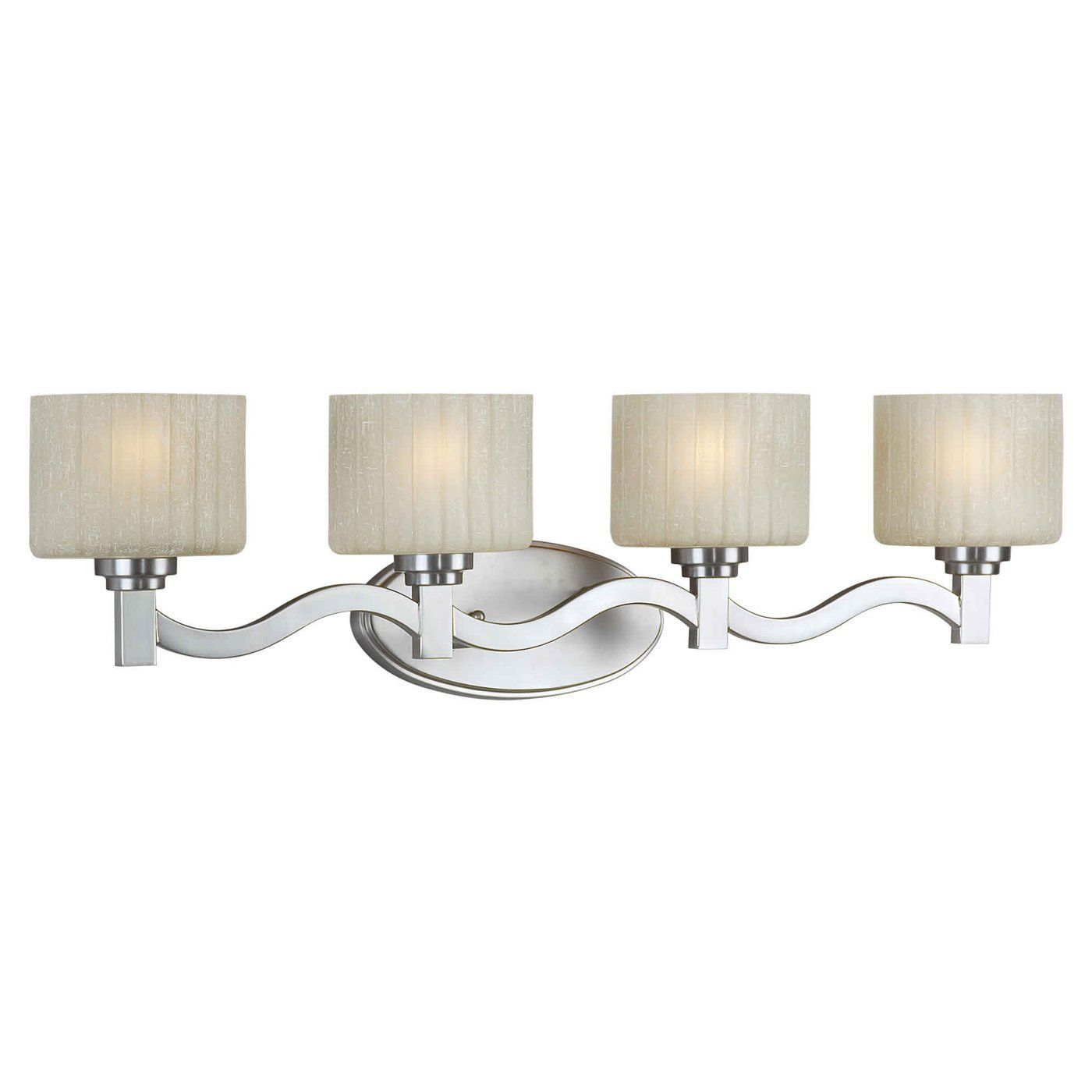 Bathroom Lighting Discount Prices shop forte lighting 5388-04-55 4 light bathroom light at the mine