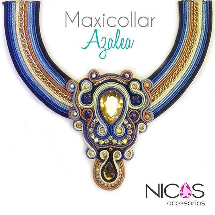Creemos en el #diseñovenezolano y en lo #hechoamano con mucho amor para ti!! #nicosaccesorios #maxicollar #maxicollares #soutachecolombia #soutache #sutaz #petos #pectorales #baberos #bisuteria #jewelryblogger #jewelrydesigner #jewellery