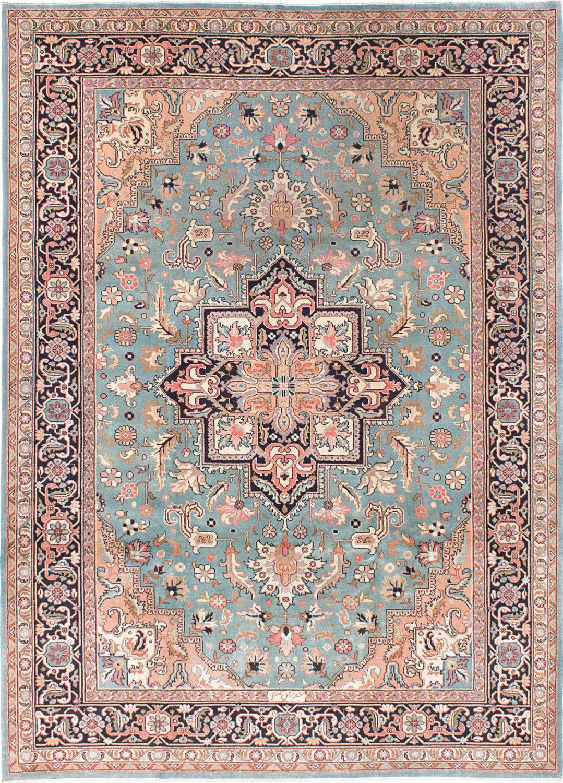 Reserved For Andrea Vintage Inspired Sarabi Pastel Pink And Blue Large Parmis Rug 8 3 X 11 6 Textured Carpet Carpet Runner Rugs On Carpet