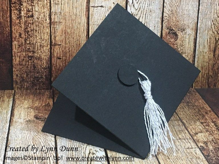 Graduation Cap Fun Fold Card Idea Lynn Dunn Fun Fold Cards Pop Up Card Templates Graduation Cards Handmade