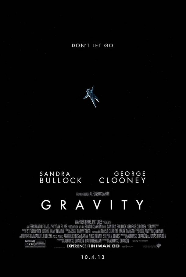 New 'Gravity' IMAX Poster Goes into the Black | What