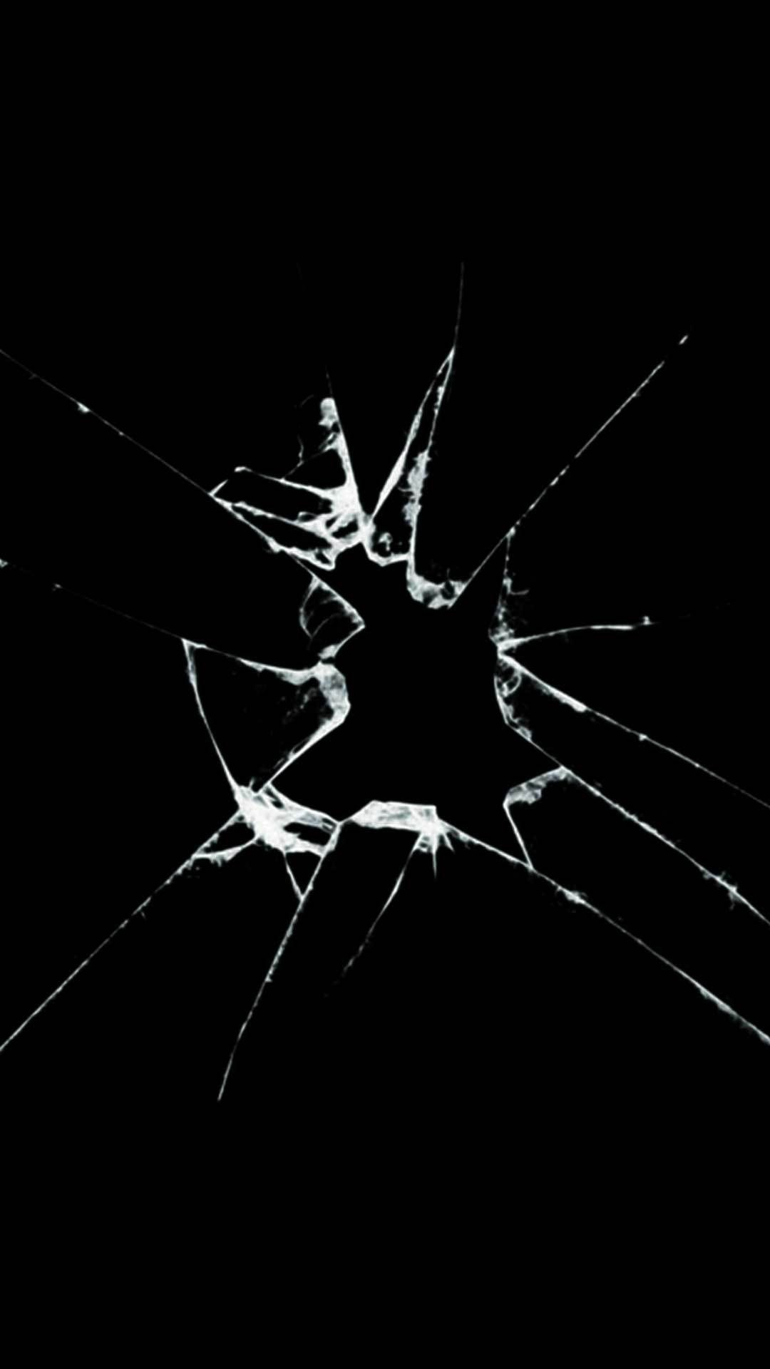 Cracked Phone Screen Wallpaper Hd Çizimler ve Dokular