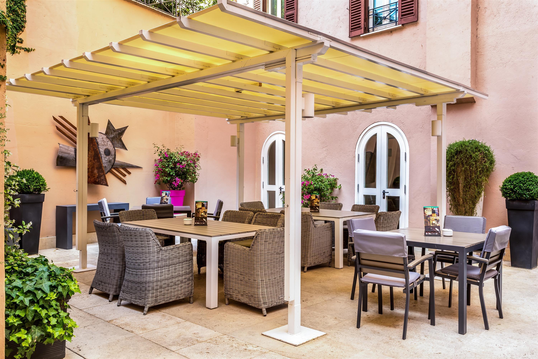 Restaurant Roof Terrace Isofà Boutique Hotels Rome Italy