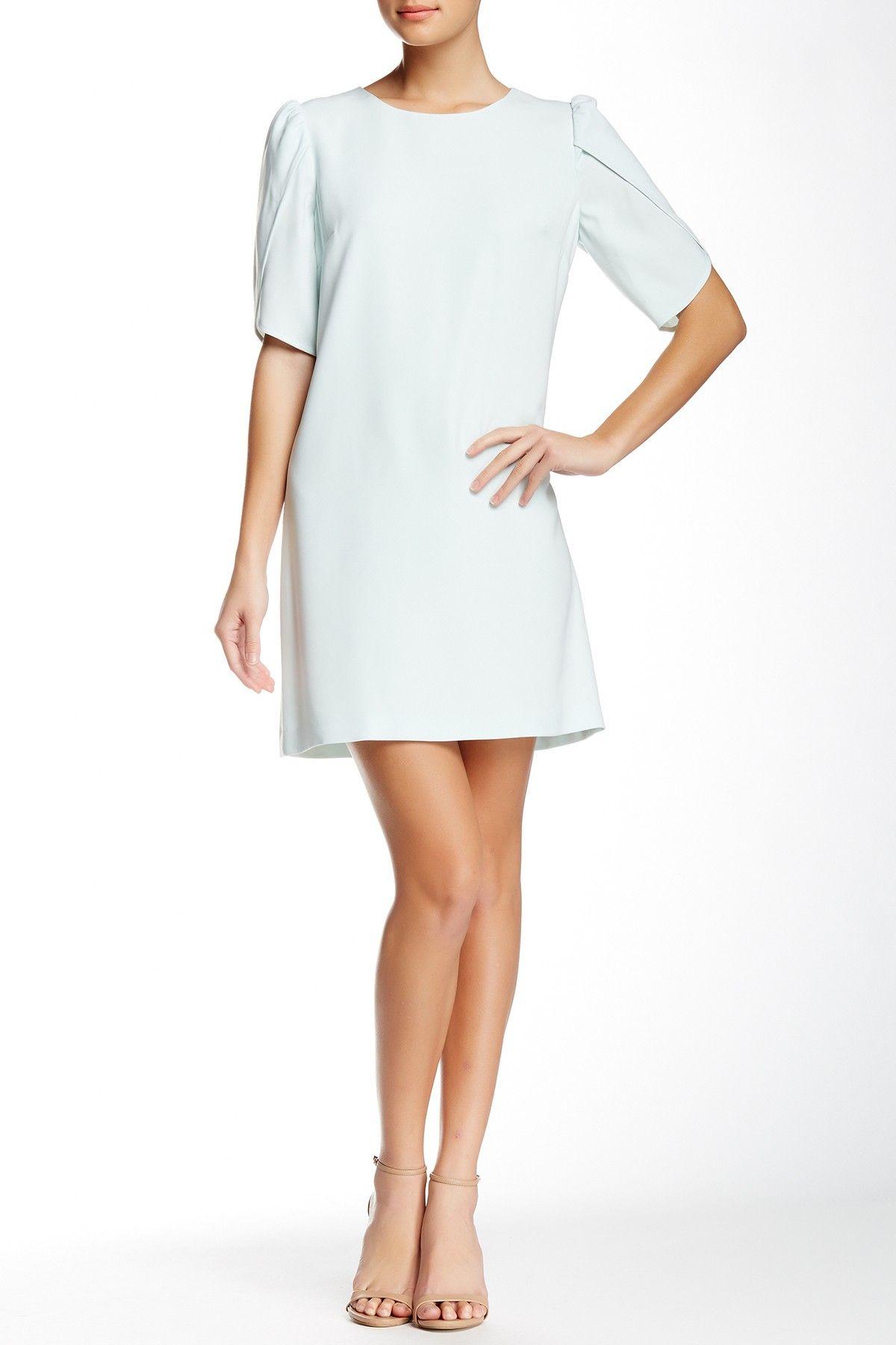 Sunday Crew Neck Wrap Sleeve Dress by Cynthia Steffe on @HauteLook