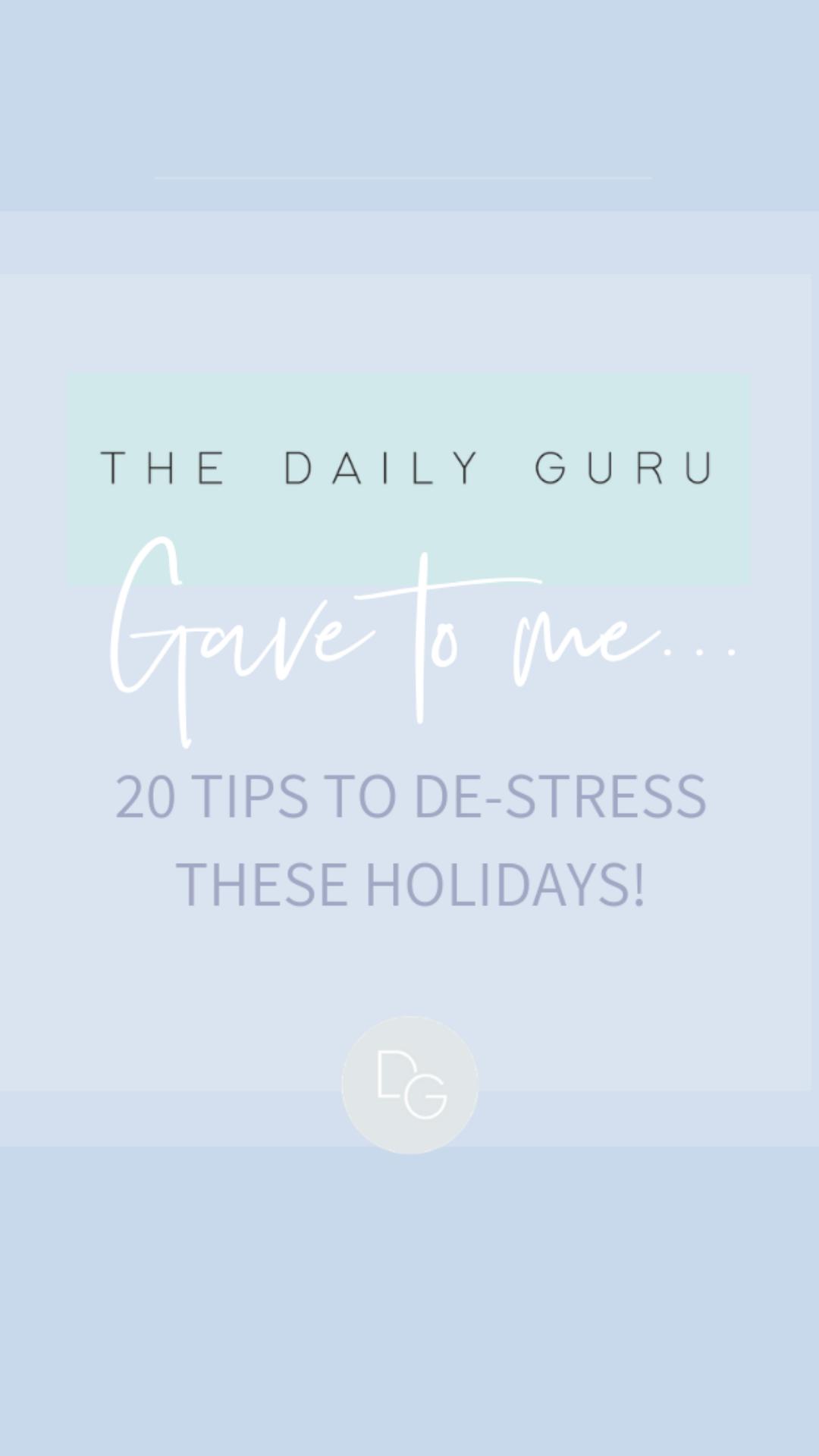 Self Care Advent Calendar