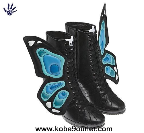 Adidas X Jeremy Scott Wings Wedge Butterfly Shoes Outlet Store