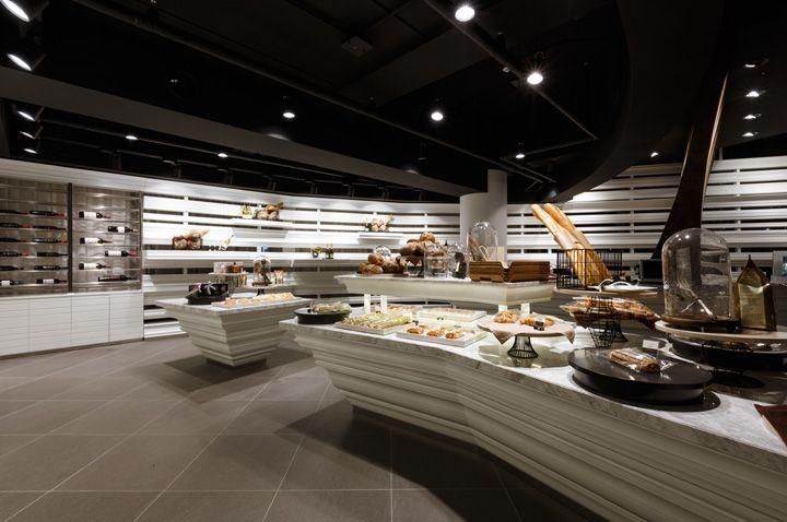 Il lago bakery wine shop by design bono goyang city south korea wine bakery · intérieur de