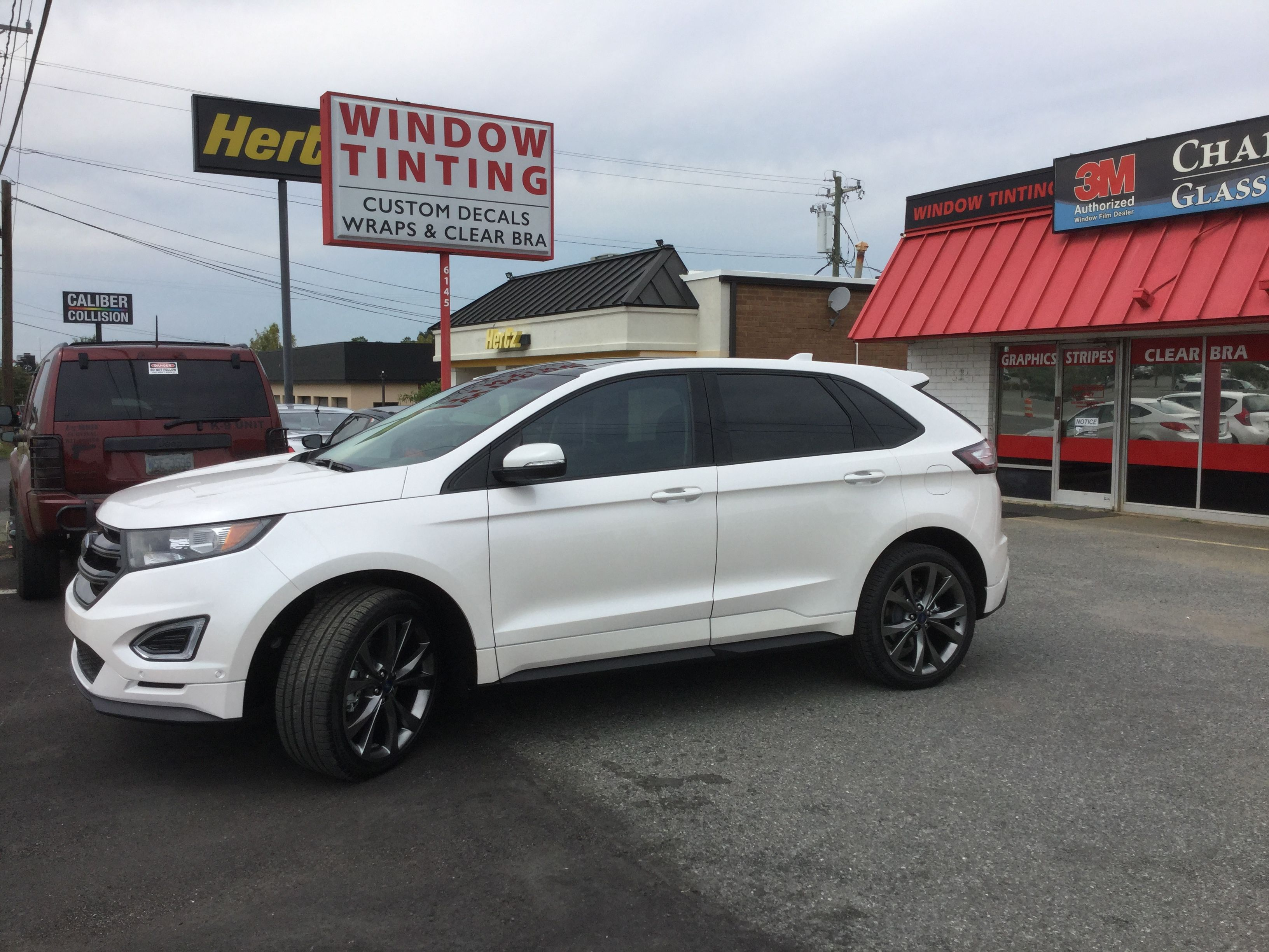 2017 Ford Edge With 3m Crystalline 40 Crystalline Ford