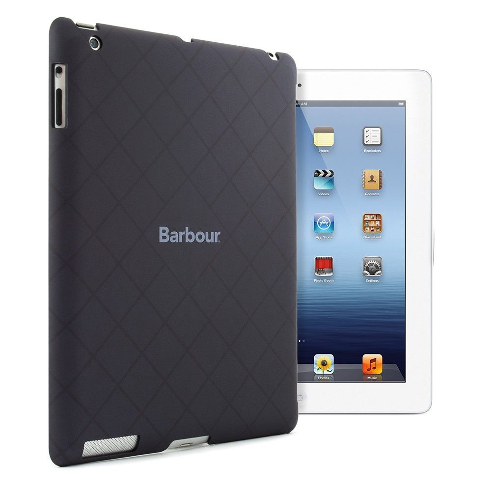 Barbour ipad 3 case blue hard shell 3995 by proporta
