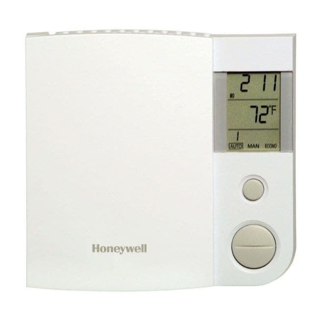 Honeywell Heating And Cooling Push Buttons Programmable Baseboard