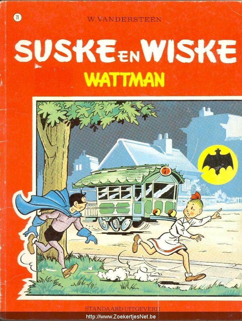 71 - Suske en Wiske - Wattman