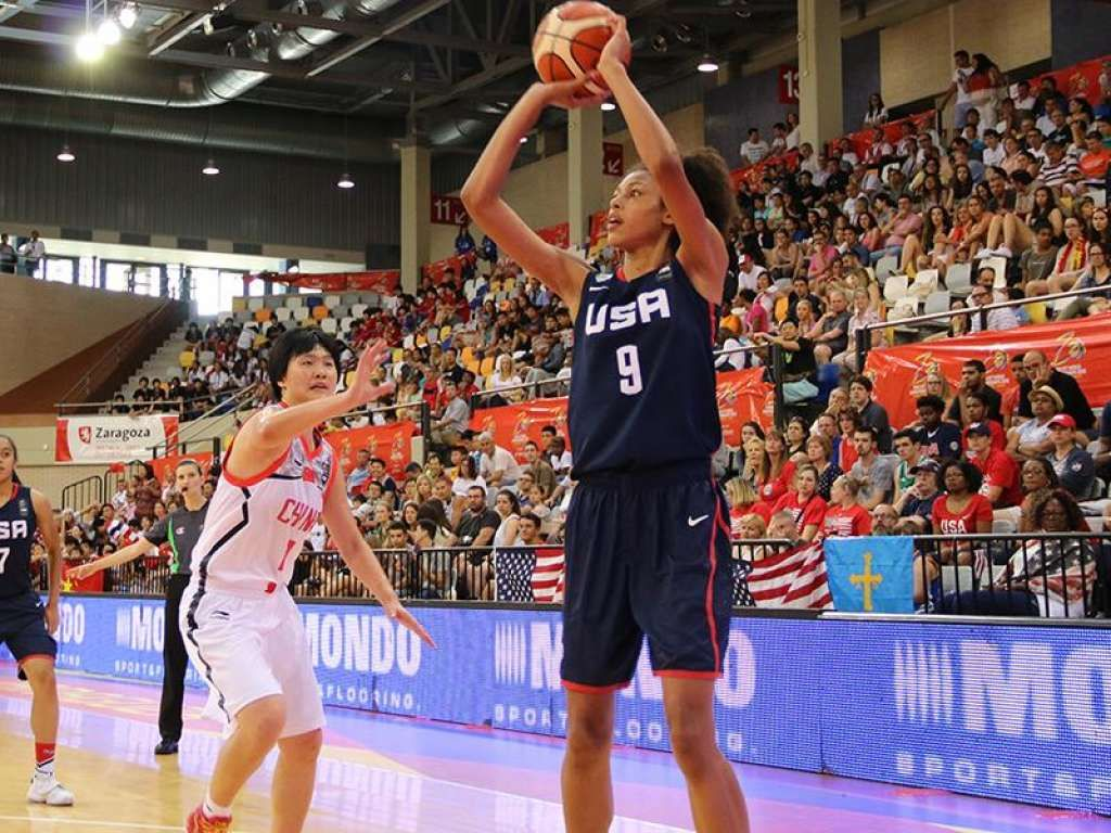 Olivia NelsonOdoda Photo USA Basketball Uconn