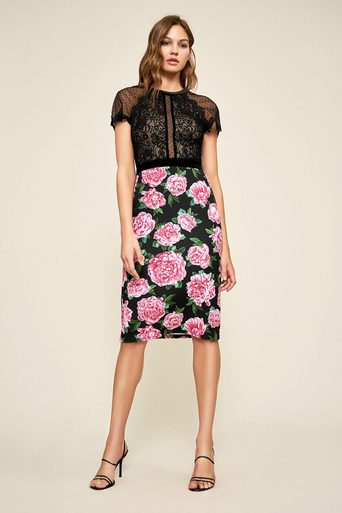 Rosta Floral Print Dress  a4f06258a