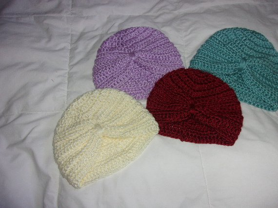 2f07a2857 Hand knit baby Turban Hat - many colors and sizes   Products ...