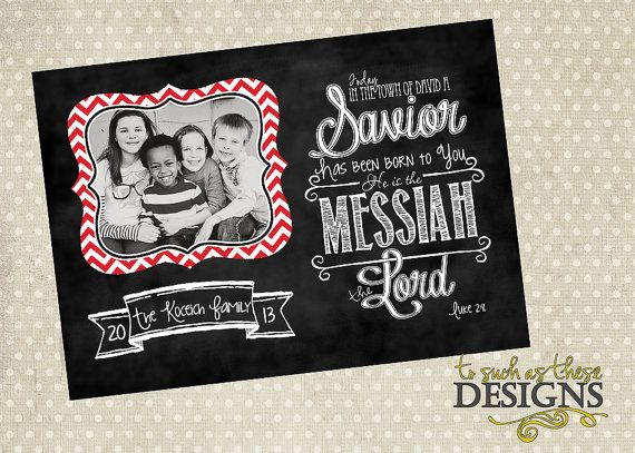 scripture chalk art digital christmas by tosuchasthesedesigns - Christmas Card Scripture