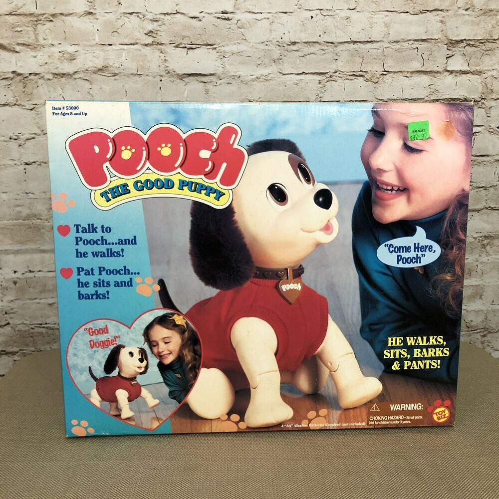 Details About Vintage Pooch Good Puppy Electronic Toy Dog Walking
