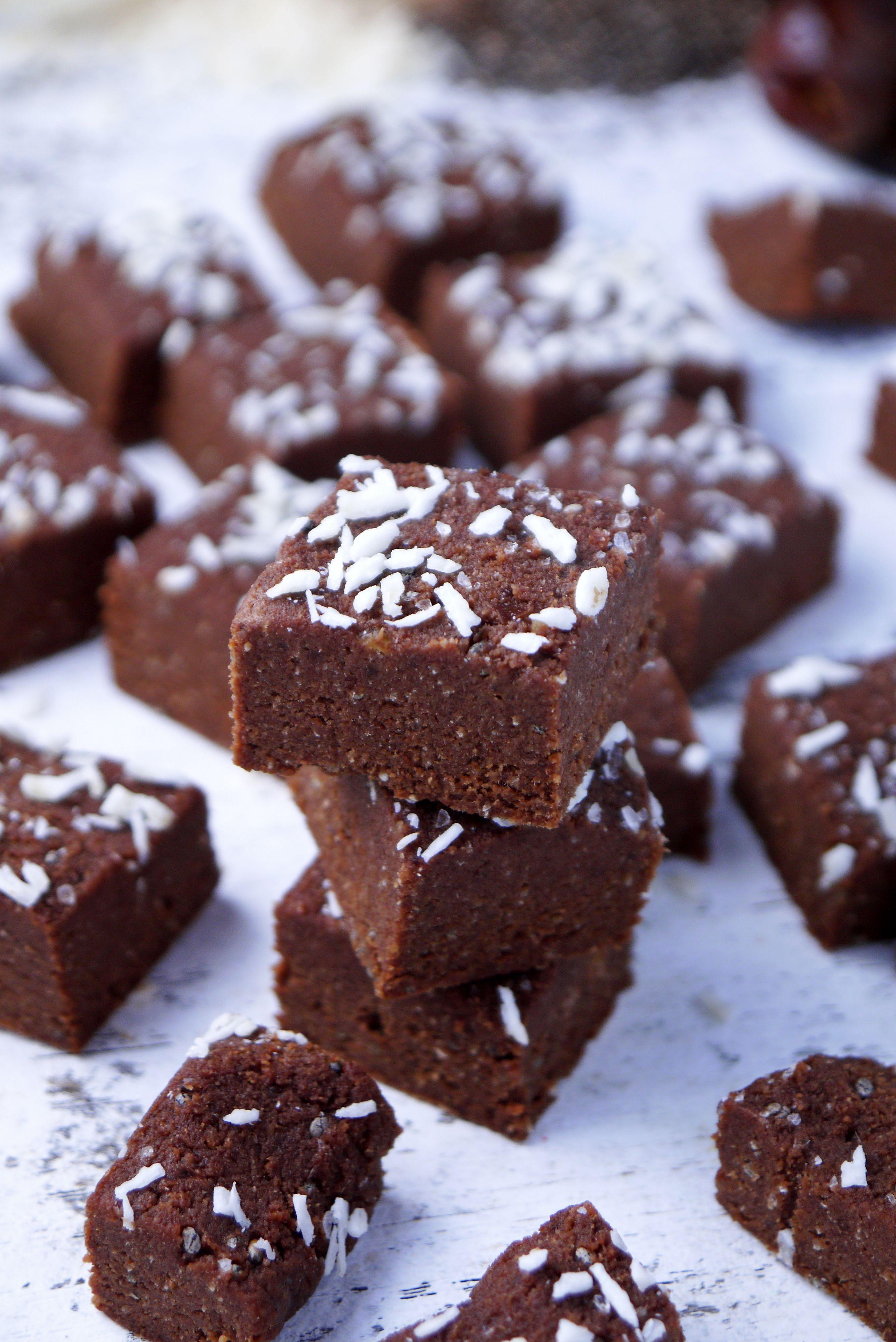 Vegan Chocolate Coconut Fudge | Recipe | More Vegan fudge, Craving ...
