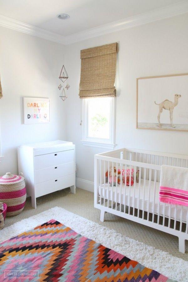 Chambre Bebe Blanche, Chambre Bebe Fille, Deco Chambre Enfant, Tapis Chambre  Bébé,