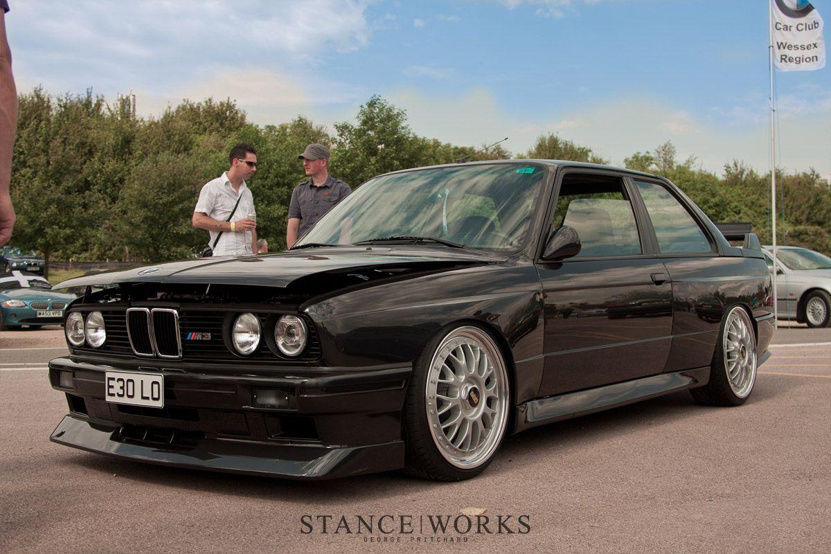 E30 M3 Black With Bbs Wheels Bmw E30 M3 Bmw E30