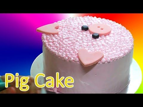 How to make  easy pig cake for new year youtube also rh pinterest