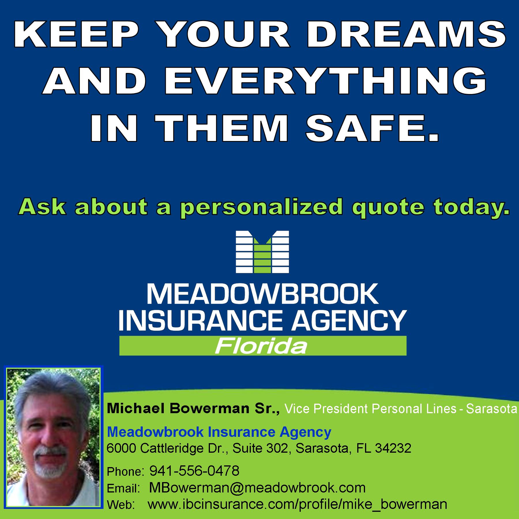 Michael Bowerman Sr Vice President Personal Lines Sarasota