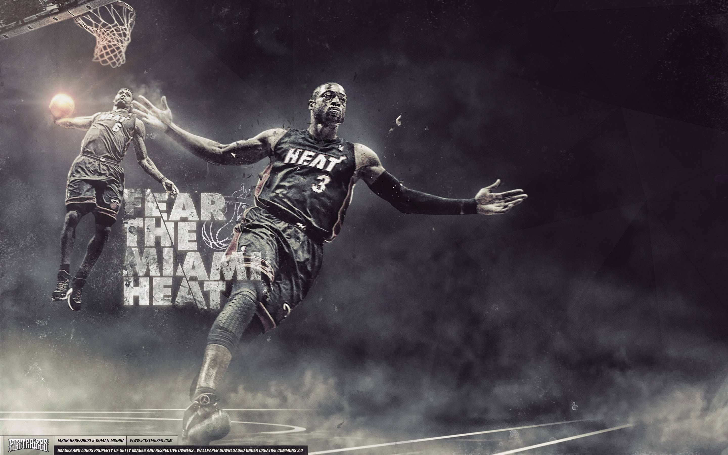 Miami Heat Dwayne Wade Wallpaper Miami Heat Basketball Heat Basketball Lebron James Dwyane Wade