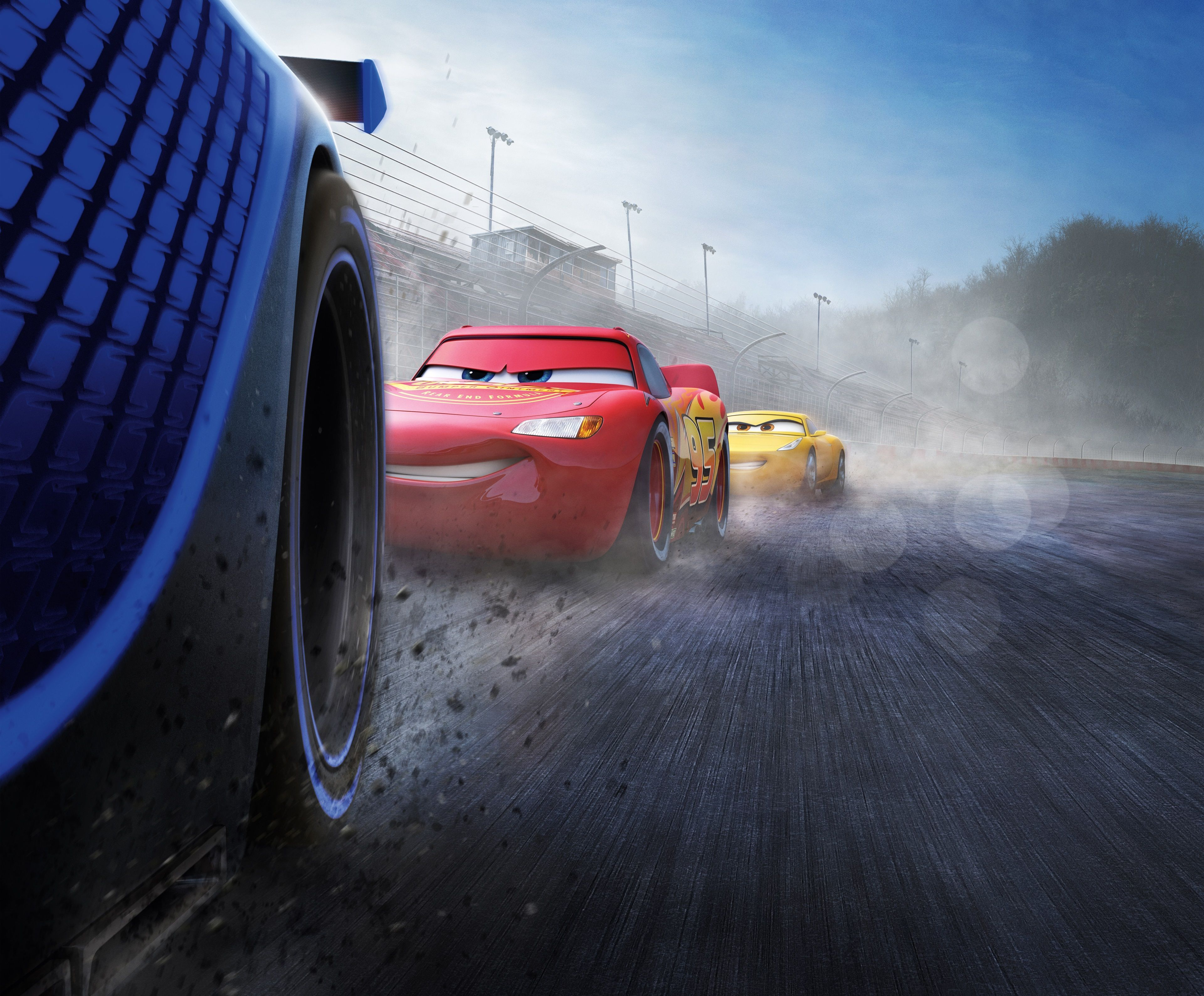 3840x3178 Cars 3 4k Hd Screen Wallpaper