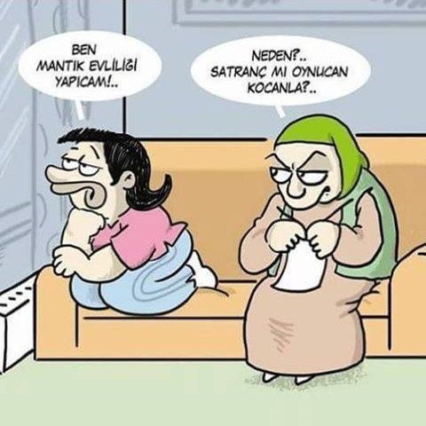 Satranc Karikatur Komik Deyisler Komik Seyler Komik