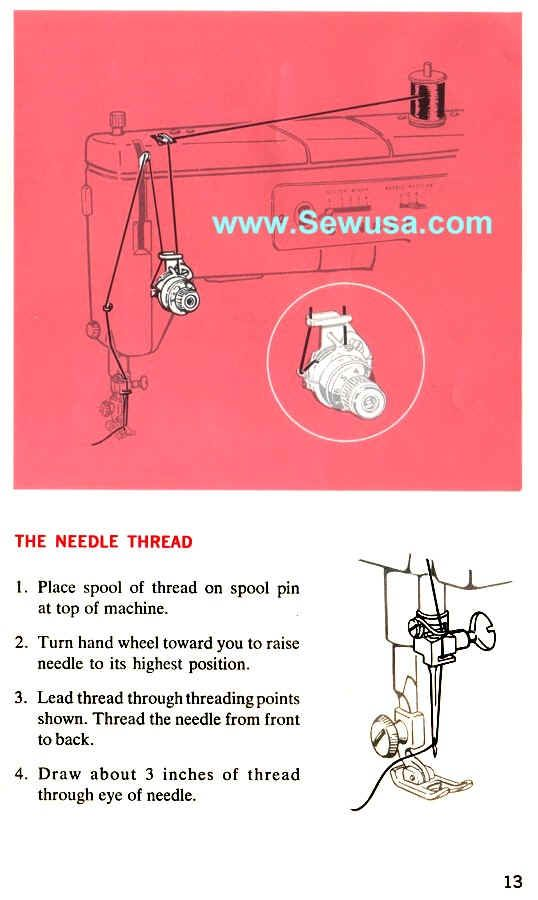 Singer 40 Sewing Machine Threading Diagram For My Way Too Old Amazing How To Thread An Old Sewing Machine With Pictures