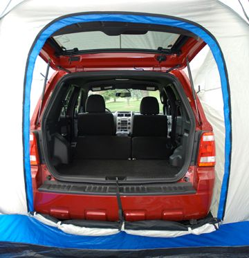 This Is How A Suv Mini Van Tent Looks Like From Inside A Tunnel