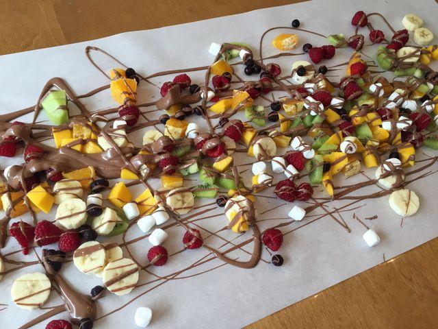 Fondue Au Chocolat Sur Table Wooloo