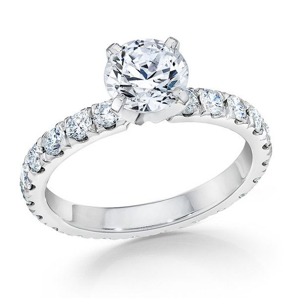 Chicago Eternity Engagement Ring Setting By Whitehouse
