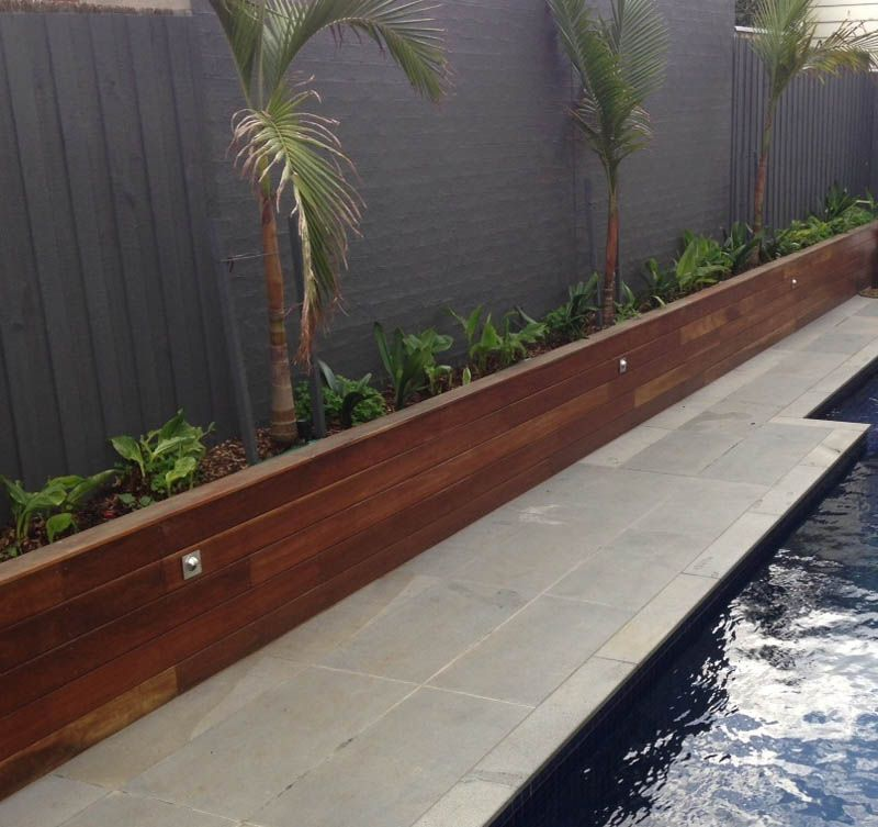 Retaining Walls Geelong Timber Landscape Timbers Garden Stairs Garden Retaining Wall